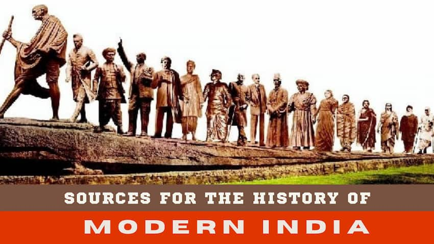 6 Main sources for the History of modern India image